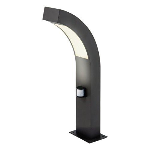LED Aluminium Sockelleuchte mit Bewegungsmelder PIRONDE 40cm als Wegleuchte
