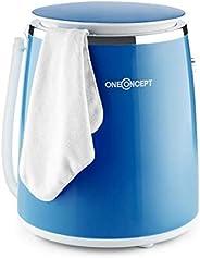 OneConcept Ecowash-Pico - Machine à laver de camping, Puissance d'essorage 135 W, Timer réglable, Lavage e