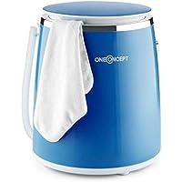 OneConcept Ecowash-Pico - Machine à laver de camping, Puissance d'essorage 135 W, Timer réglable, Lavage et essorage…