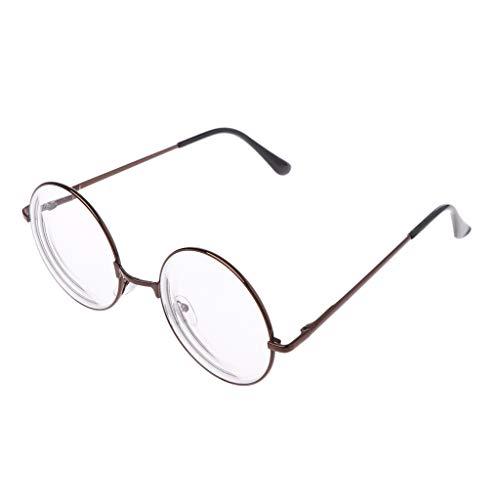 Männer Frauen Retro Metall Runde Rahmen Myopie Brillen Brillen Eyewear -1,0-1,5-2,0-2,5-3,0-3,5-4,0
