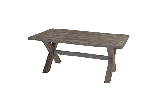 Ploß Outdoor Furniture Table 180 x 100 x 75 cm gris