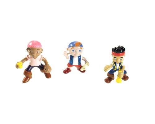 Mattel W5261 - Fisher-Price Jake e i pirati, personaggi di Jake, Izzy & Cubby, 3 pz.
