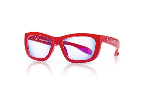 Shadez Unisex Brillengestell Shz 117, Rot (Red), Medium (Herstellergröße: 7-16 Jahre) (Ophthalmische Linsen)