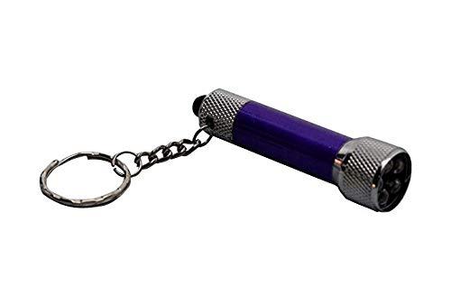 Komonee Porte-clés Lampe de Poche Lampe de Poche Violet