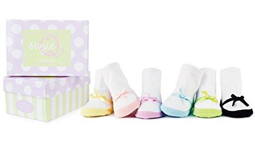 Trumpette Baby-socken (Trumpette Baby-Socken - Suzie Q's Geschenkset in Box)