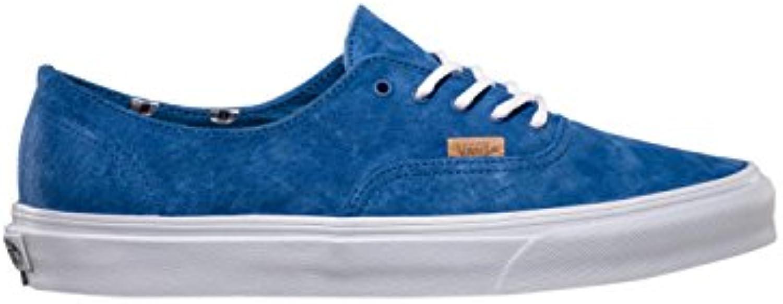 Vans Men's Pigsuede Polka Blue Sneakers In Size 38 Blue