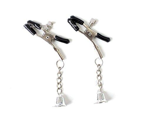 Preisvergleich Produktbild Wiftly SM Sexspielzeug Nippelklammern Nippel Klemmen Flirt Silber Glocke Milch Clips für Paare