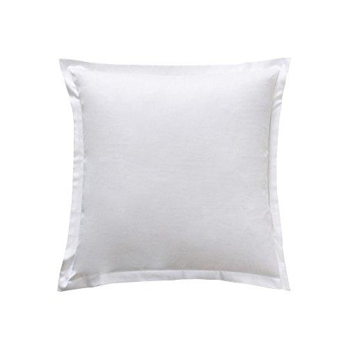 Essix d68-32008-204037-sx Panna Cotta Satin Cotton Square Pillowcase 65x 65cm