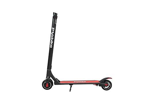 E-Scooter Klappbar Roller Scooter Elektroroller Carbon - Reichweite bis zu 35km 25 km/h P1 PowerOne (Schwarz)