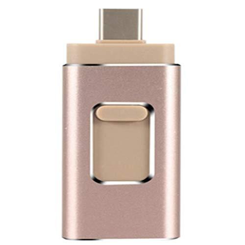 LAY USB-Flash-Laufwerk Thumb Drive 64 GB, Photo Stick Jump Drive USB-Speicher-Flash-Laufwerk Kompatibel mit Android/PC/iOS/Typ-C und mehr Backup-Geräten,B,512GB -