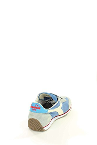 Diadora Equipe Stone Wash 12, Chaussures Basses Mixte Adulte Denim