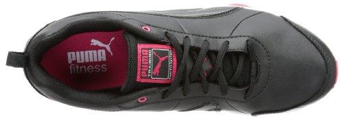 Puma Flextrainer SL Wn's, Chaussures de Fitness femme Noir (black-white 03)