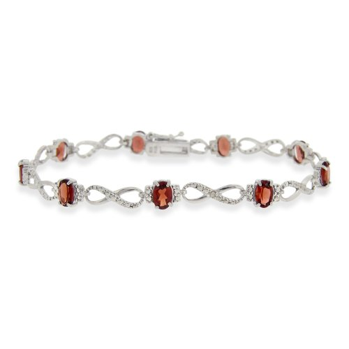 sterling-silver-diamond-accent-63ct-garnet-infinity-bracelet