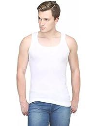 BODYCARE BodyX Premium Cotton Ribbed Regular Vests - Ribbed Regular Vests For Men (BX-207W)