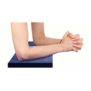 MB Zen EKA TPE Yoga Pad – Leichtes Kniekissen – Seitenschläferkissen – Knieschoner für entspanntere Yoga Übungen – Lagerungskissen – Schweiß-, Geruchs- und Feuchtigkeitsabweisend