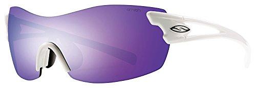 Smith Pivlock Asana/N Hq Vk6, Gafas de Sol para Mujer, Blanco (White/Te+Zb+99), 99
