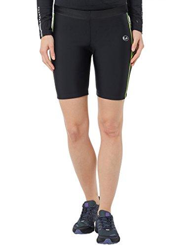 Ultrasport 11051 - Pantalones cortos de correr para mujer, color negro
