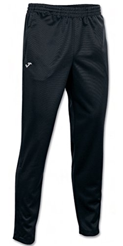Joma - Pantalon Largo Poly. Interlock Negro Hombre