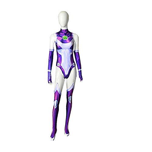 ich Funken Starfire Quantum Warfare Bodysuit Halloween Party Requisiten Kleidung,Adult-XXXL ()