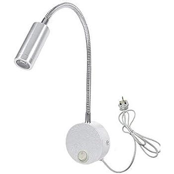 Onerbuy Flexible Gooseneck Plug In Reading Lamp Art Works