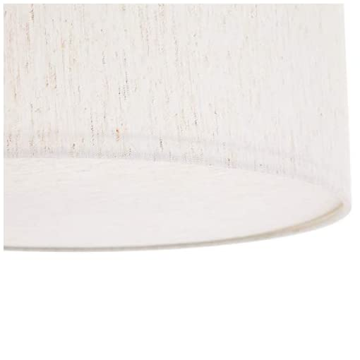 Umi. by Amazon, lampadario da soffitto, paralume in tessuto, forma cilindrica, 39,8 cm, diametro 101,6 cm