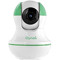 Gynoii GPW-1025 monitor video per bambino con HD Visione notturna ad infrarossi, Audio a due vie e Lasso di tempo per iPhone, iPad, phones e tablets Android