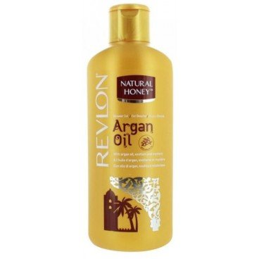 Revlon Natural Honey Shower Gel / Duschgel Argan Oil mit Arganöl - 650 ml