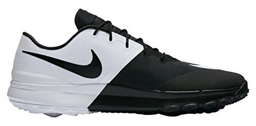 Nike Herren FI Flex Golfschuhe, Schwarz (Black/White/Anthracite), 42 EU