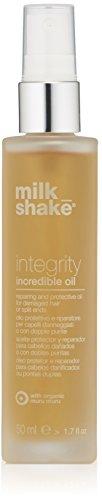 Milkshake - Integrity Incredible Oil - Huile pour cheveux endommagés ou fourchus, 50 ml