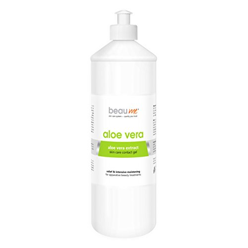 BEAUME® ALOE VERA Ultraschallgel mit Aloe-Vera-Extrakt für apparative Anti-Aging Beauty-Behandlungen, pflegend und beruhigend, Größe:1000ml (Ultraschall-geräte)