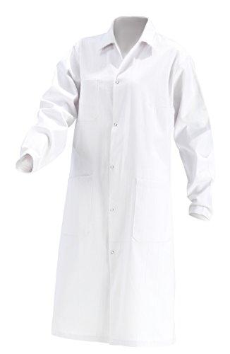 Damen Laborkittel B-Ware Baumwolle weiß Labor Kittel Mantel KOKOTT Gr 40