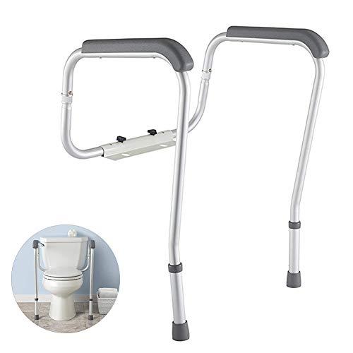 Wtter Toiletten-Sicherheitsgeländer, Sicherheitsrahmen Für Toilette Mit Einfacher Installation, Höhenverstellbare Beine, Badezimmer-Sicherheit