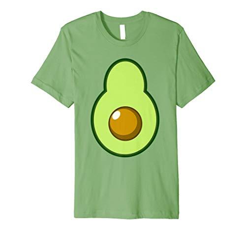 Avocado Kostüm Halloween lustige Idee DIY -