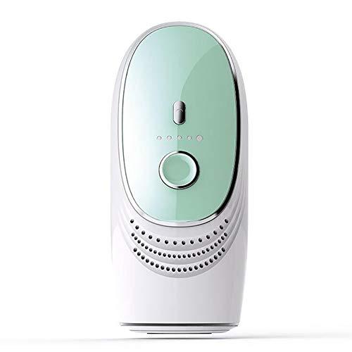 JYY Dispositivo Permanente per la depilazione,Sistema di depilazione IPL da 350.000 Flash, Epilatore per Capelli indolore e Sicuro sotto casa per ascelle Zona Bikini Viso Corpo