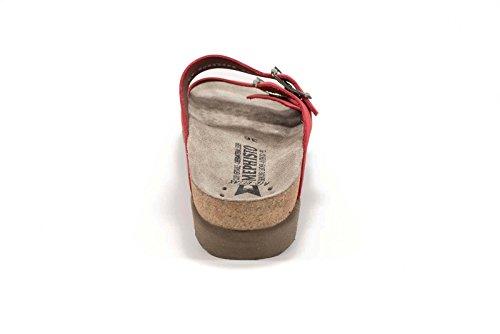 Mephisto Harmonie Sandalbuck Damen Sandale Red