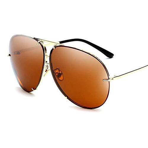 AAMOUSE Sonnenbrillen Übergroße Aviation-Sonnenbrillen Shades SpiegelSonnenbrilleFrauen weibliche Brillen Kim Kardashian Sonnenbrillen