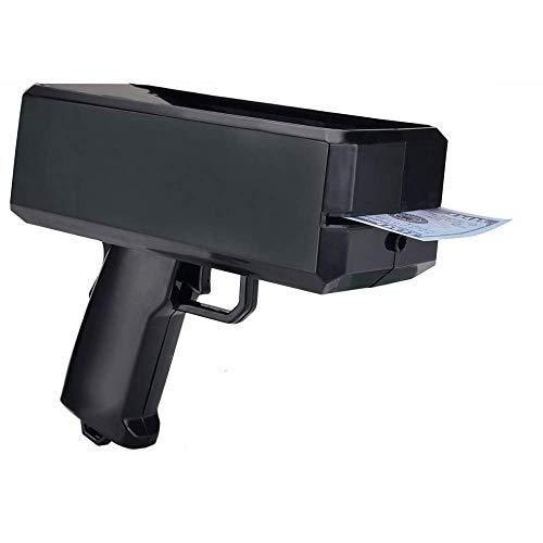 Pistola de Dinero en Efectivo, Armas de Super Dinero eléctricas Papel Jugando Pistola de Dinero de Aerosol Hacen Que la Pistola de Juguete de Lluvia con Juguetes de Pistola de Dinero Juego