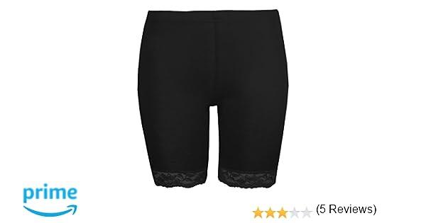 Love Lola Womens Short de Cyclisme pour Femme Cycle de Bordure en Dentelle  Short exclusivement Stretch Noir Leggings  Amazon.fr  Vêtements et  accessoires 38b75e0d666
