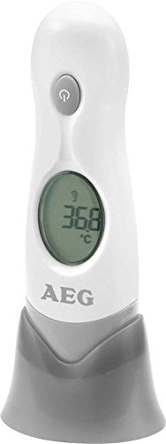 4in1 Digitales Fieberthermometer mit LCD-Display Ohrthermometer Stirnthermometer Fiebermessgerät Thermometer (inkl. Batterien + Infrarot)