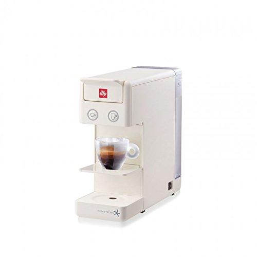 ILLY Kapselmaschine ILLY Modell Y3.2 Iperespresso Farbe Weiß, Ideal sowohl für Espressokaffee als auch für Caffè All'Americana.
