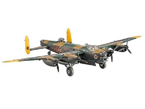Revell avro lancaster mk.i/iii 1:72 assembly kit fixed-wing aircraft - aircraft models (1:72, assembly kit, fixed-wing aircraft, avro lancaster mk.i/ii, military aircraft, plastic)