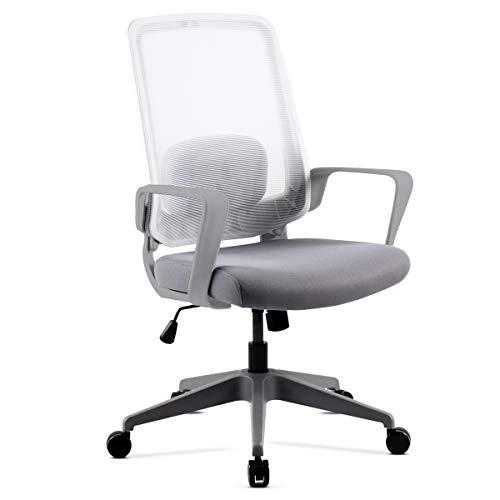 🥇【 Ofertas Sillas oficinas blancas Online ®】✓Descuento ...