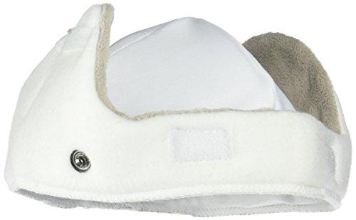 Bern Helm Winterinnenfutter Kinderhelme Nino/Nina Winter Fleece weiß (white) inkl. goggle clip ? Größe S/M -
