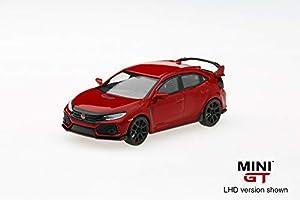 Mini GT MGT00012-L Modelo Coleccionable, Rallye Rojo, Escala 1/64