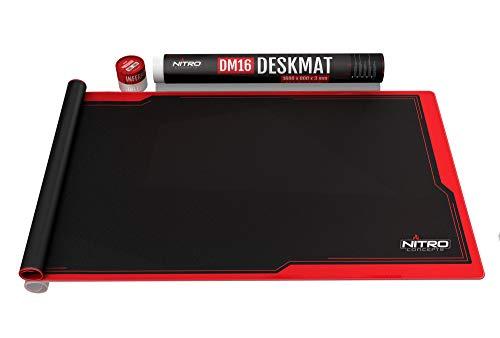 Nitro Concepts DM16 Deskmat Desk Pad - Alfombrilla de ratón - 1600x800mm...
