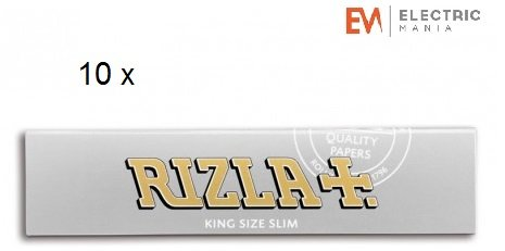 rizla-10-booklets-rizla-silver-king-size-slim-rolling-papers