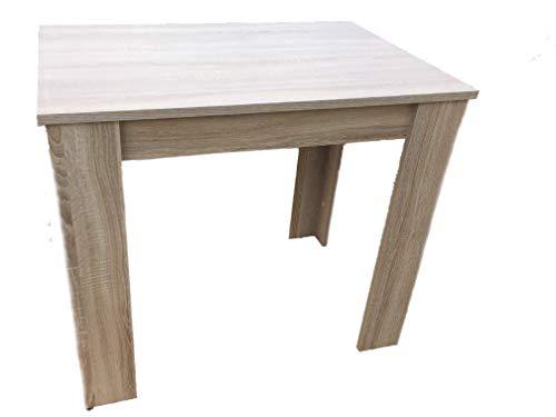 Möbel SD Esszimmertisch Küchentisch Sonoma Eiche 86x60cm (Küchentisch, Möbel)