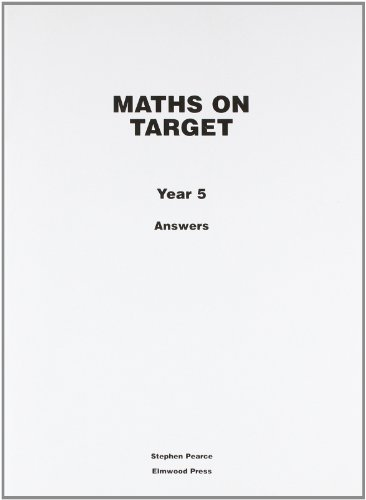 Maths on Target: Answers Year 5