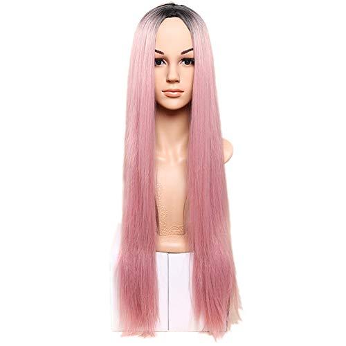 Yant Cheveux synthétiques Perruques droites