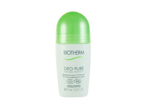 Biotherm Deo Pure Natural Protect 75 ml Roll On Deodorant Stick für Sie, 1er Pack (1 x 75 ml)